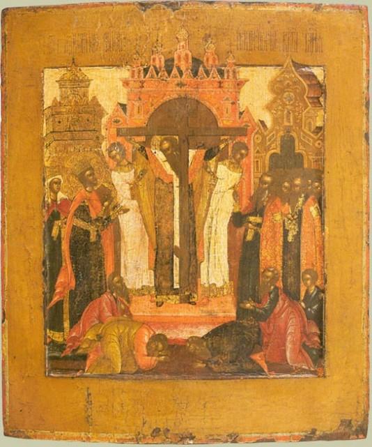 Воздвижение креста господня икона ...: pictures11.ru/vozdvizhenie-kresta-gospodnya-ikona.html