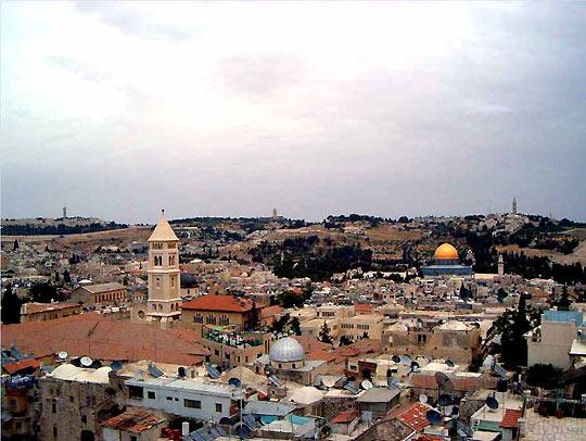 Иерусалим. Современный вид