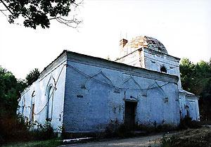 Кресто-Воздвиженский храм в селе Лукино